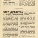 Introduction to Crop Rotation