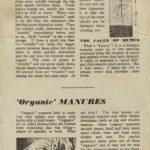 Good Tilth & Organic Manures