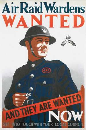 Wardens Wanted - Dig for Victory Poster