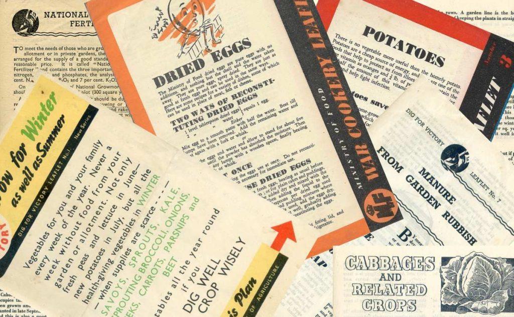 Dig for Victory Leaflets