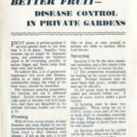 Better Fruit - Disease Control in Private Gardens DfV 18