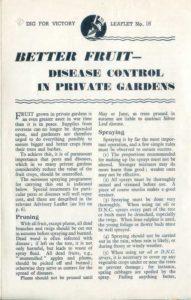 Better Fruit Disease Control