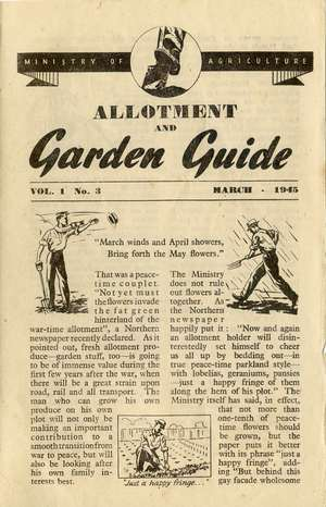 Monthly Growing Guide March 1945