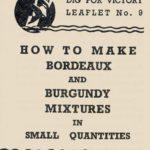 How to Make Bordeaux & Burgundy Mixtures DfV 9