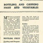 Bottling & Canning Fruit & Vegetables DfV 11 1941