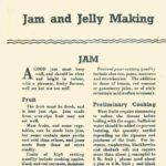 Jam & Jelly Making DfV 10