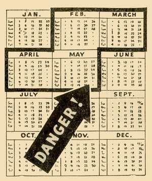 Hungry Gap Calendar