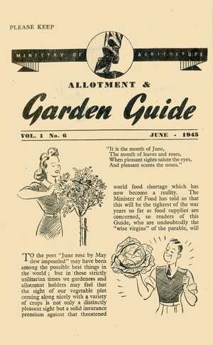 Monthly Growing Guide June 1945