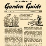 August 1945 Allotment & Garden Guide