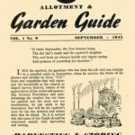 September 1945 Allotment & Garden Guide
